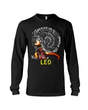 YES I AM A LEO Long Sleeve Tee thumbnail