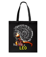 YES I AM A LEO Tote Bag thumbnail