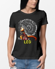 YES I AM A LEO Ladies T-Shirt lifestyle-women-crewneck-front-10