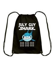 JULY GUY SHARK DOO DOO DOO Drawstring Bag thumbnail