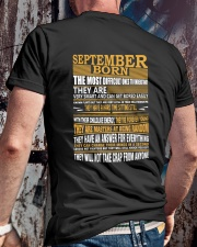SEPTEMBER BORN Classic T-Shirt lifestyle-mens-crewneck-back-2