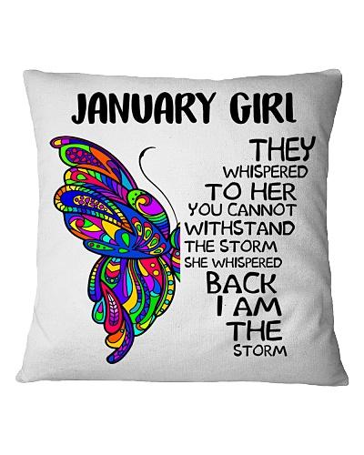 JANUARY GIRL - SHE WHISPERED BACK I AM THE STORM