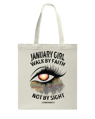 JANUARY GIRL WALK BY FAITH NOT BY SIGN