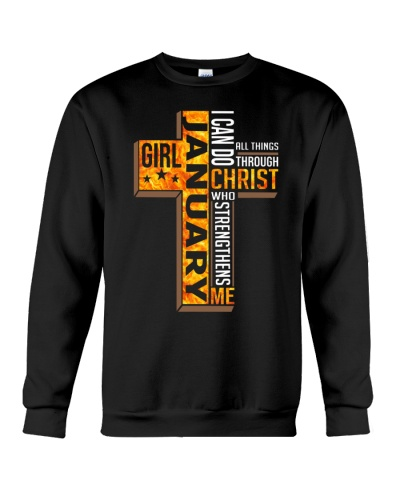 JANUARY GIRL I CAN DO ALL THINGS THROUGH CHRIST