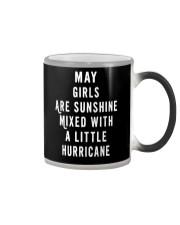 MAY GIRLS ARE SUNSHINE  Color Changing Mug thumbnail