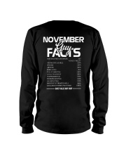 NOVEMBER GUY FACTS Long Sleeve Tee thumbnail