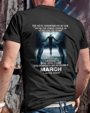 DEVIL WHISPERED - MARCH Classic T-Shirt lifestyle-mens-crewneck-back-2