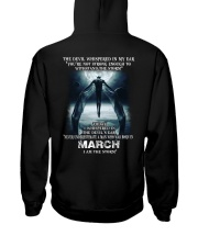 DEVIL WHISPERED - MARCH Hooded Sweatshirt thumbnail