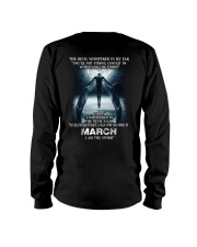 DEVIL WHISPERED - MARCH Long Sleeve Tee thumbnail