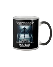 DEVIL WHISPERED - MARCH Color Changing Mug thumbnail