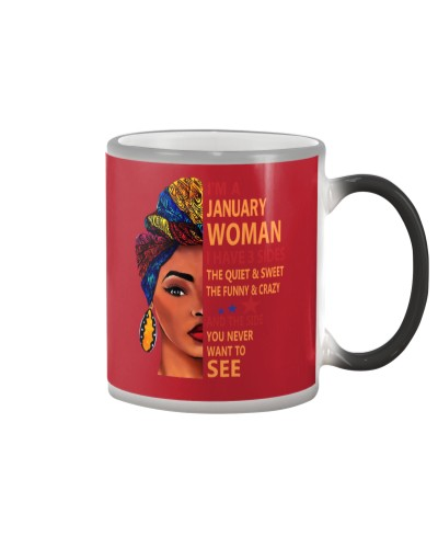 JANUARY WOMAN - I HAVE 3 SIDES