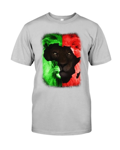 LION MAP - AFRICAN AMERICAN