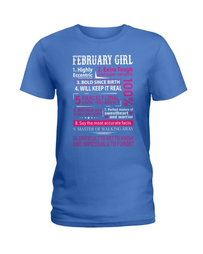 FEBRUARY - LIMITED EDITION