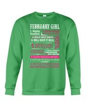 FEBRUARY - LIMITED EDITION Crewneck Sweatshirt front