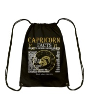 CAPRICORN FACTS Drawstring Bag thumbnail