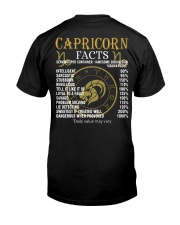 CAPRICORN FACTS Classic T-Shirt tile