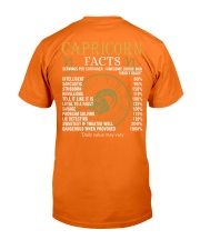 CAPRICORN FACTS Classic T-Shirt back