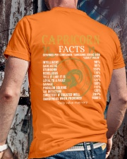 CAPRICORN FACTS Classic T-Shirt lifestyle-mens-crewneck-back-2