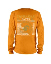 CAPRICORN FACTS Long Sleeve Tee back