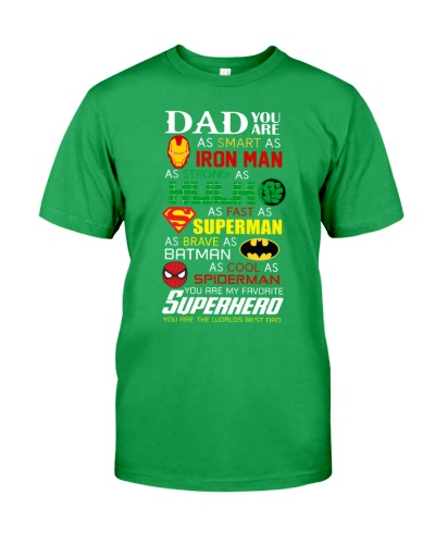 DAD YOU ARE SUPERHERO