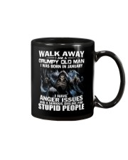 I AM A GRUMPY OLD MAN I WAS BORN IN FEBRUARY Mug thumbnail