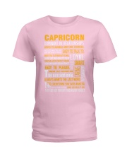 CAPRICORN - LIMITED EDITION Ladies T-Shirt front