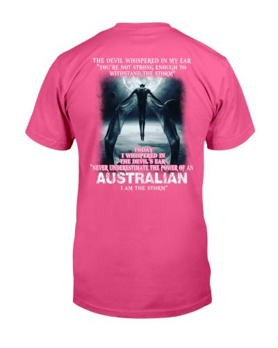 DEVIL WISHPERED - AUSTRALIA