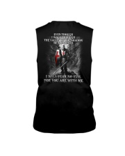 I WILL FEAR NO EVIL - WARRIOR OF CHRIST Sleeveless Tee thumbnail