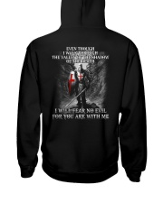 I WILL FEAR NO EVIL - WARRIOR OF CHRIST Hooded Sweatshirt thumbnail