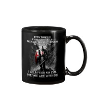 I WILL FEAR NO EVIL - WARRIOR OF CHRIST Mug thumbnail