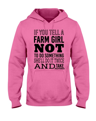 FARM GIRL NOT TO DO SOMETHING - FARMER