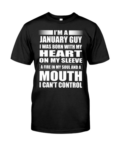 LIMITED EDITION - JANUARY GUY