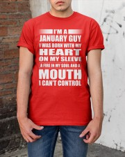 LIMITED EDITION - JANUARY GUY Classic T-Shirt apparel-classic-tshirt-lifestyle-31