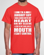 LIMITED EDITION - JANUARY GUY Classic T-Shirt garment-tshirt-unisex-front-03