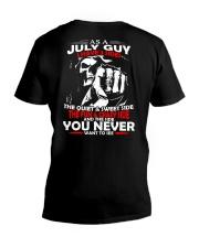 AS A JULY GUY - I HAVE 3 SIDES V-Neck T-Shirt thumbnail