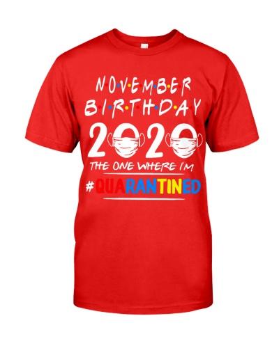 NOVEMBER BIRTHDAY 2020 THE ONE WHERE IM QUARANTINE