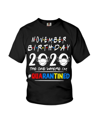 NOVEMBER BIRTHDAY 2020 THE ONE WHERE IM QUARANTINE