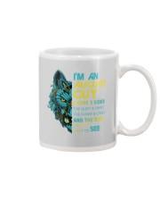 'M AN AUGUST GUY - I HAVE 3 SIDES Mug front