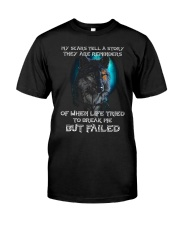 WOLVES - MY SCARS Classic T-Shirt front