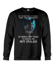 WOLVES - MY SCARS Crewneck Sweatshirt thumbnail