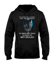 WOLVES - MY SCARS Hooded Sweatshirt thumbnail