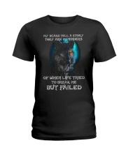 WOLVES - MY SCARS Ladies T-Shirt thumbnail