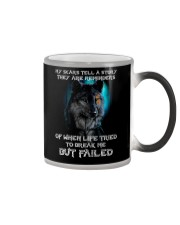 WOLVES - MY SCARS Color Changing Mug thumbnail