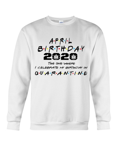 APRIL BIRTHDAY 2020 CELEBRATE IN QUARANTINE