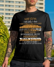 MAY GUYS AMAZING IN BED Classic T-Shirt lifestyle-mens-crewneck-front-8
