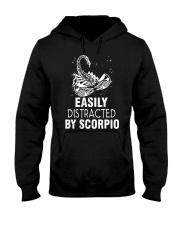 EASILY DISTRACTED BY SCORPIO Hooded Sweatshirt thumbnail