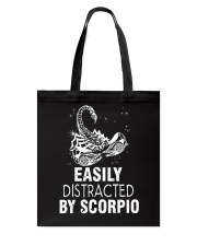 EASILY DISTRACTED BY SCORPIO Tote Bag thumbnail