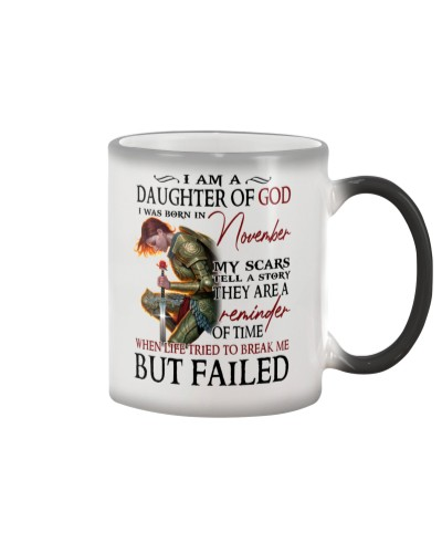 I AM A DAUGHTER OF GOD I WAS BORN IN NOVEMBER