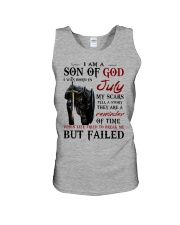 I AM A SON OF GOD I WAS BORN IN JULY Unisex Tank thumbnail