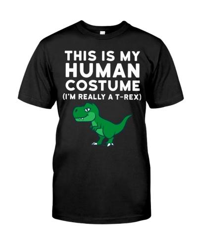 THIS IS MY HUMAN COSTUME - DINOSAUR